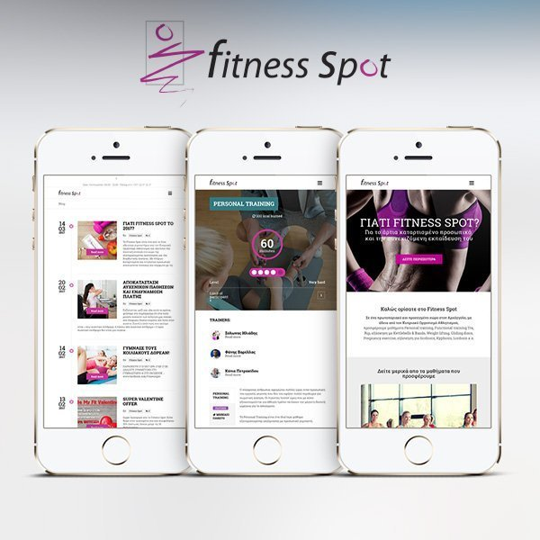 Fitness Spot – Web Design