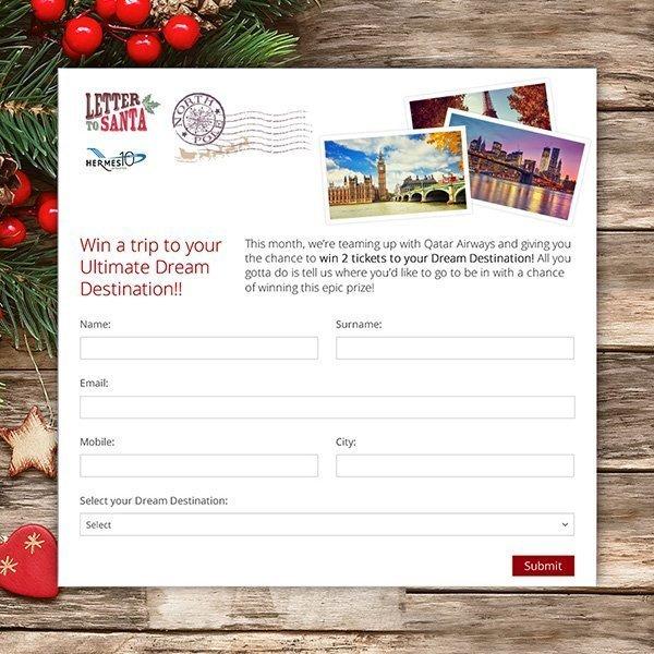 HERMES – Santa Facebook contest